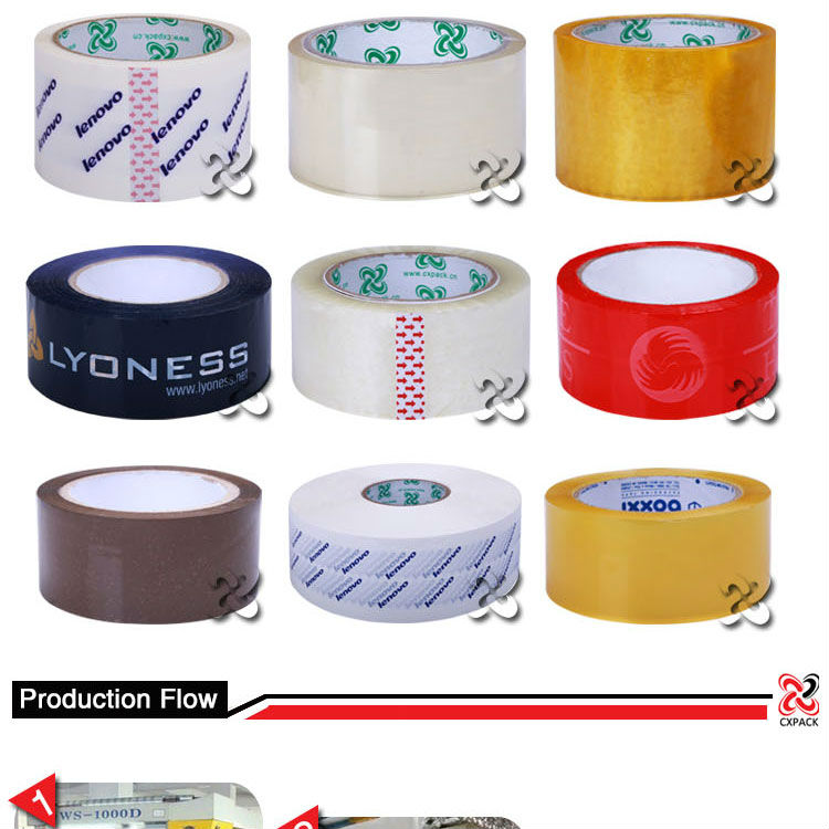 Variety Types of Colored Tape