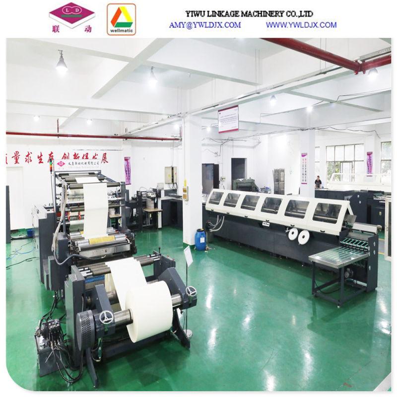 Full Automatic Book Printing and Adhesive Binding Machine