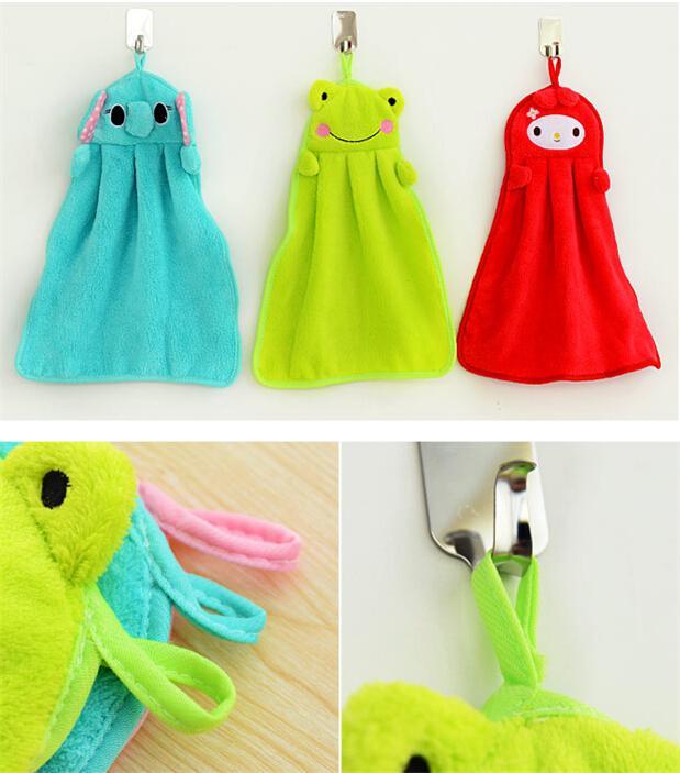 Animal Design Creative Hanging Hand Towel