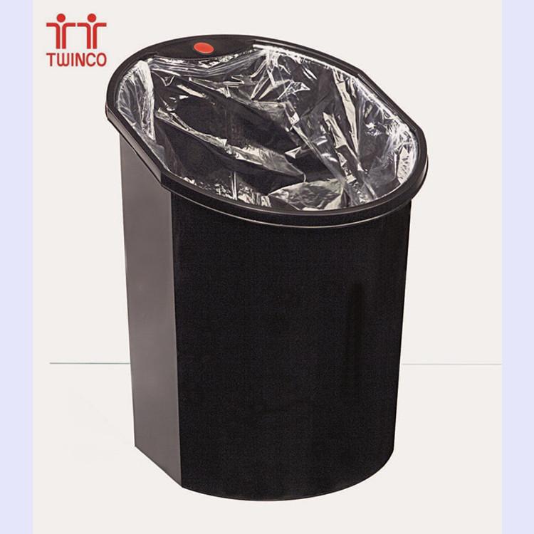 Office Steel Dust Bin Waste Bin 15L Indoor Trash Bin