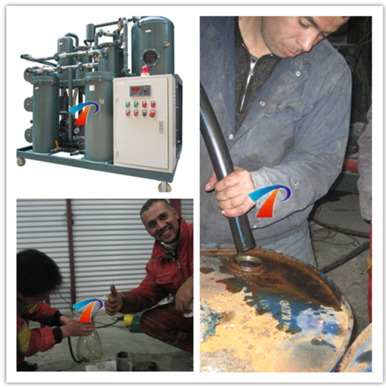 Green Waste Hydraulic Oil Filtration System