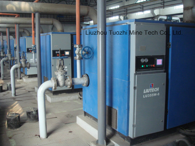 Atlas Copco - Liutech 90kw Screw Air Compressor