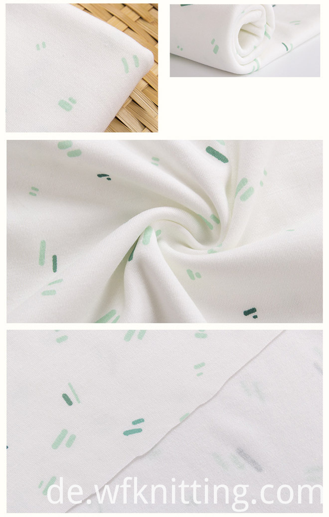 Printed Fabric For Lady Dress Garment