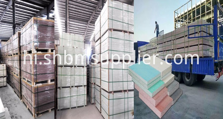 High Strength Heat Insulation Magnesium Oxide Wall Panel Fireproof Board