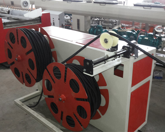High Quality PVC Single Wall Corrugated Pipe Extrusion Line