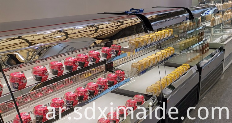 Stainless Steel Cake Display Showcase
