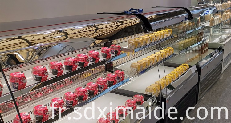 cake display cabinet frezzer