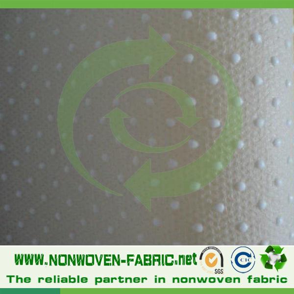 Slipper Making Material Non Woven Slip Resistant Fabric
