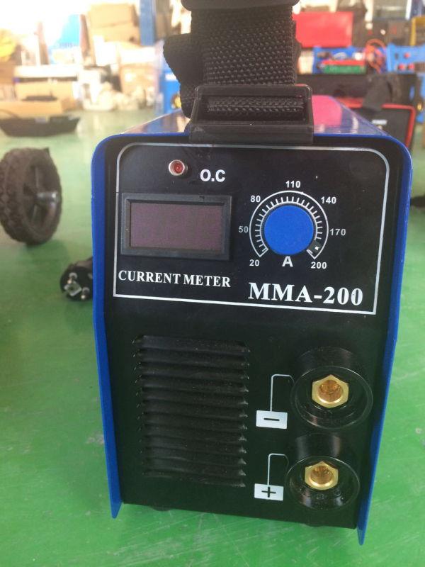 Inverter Arc DC Welder Portable Arc Welding Machinery MMA125D/145D/160d/200d