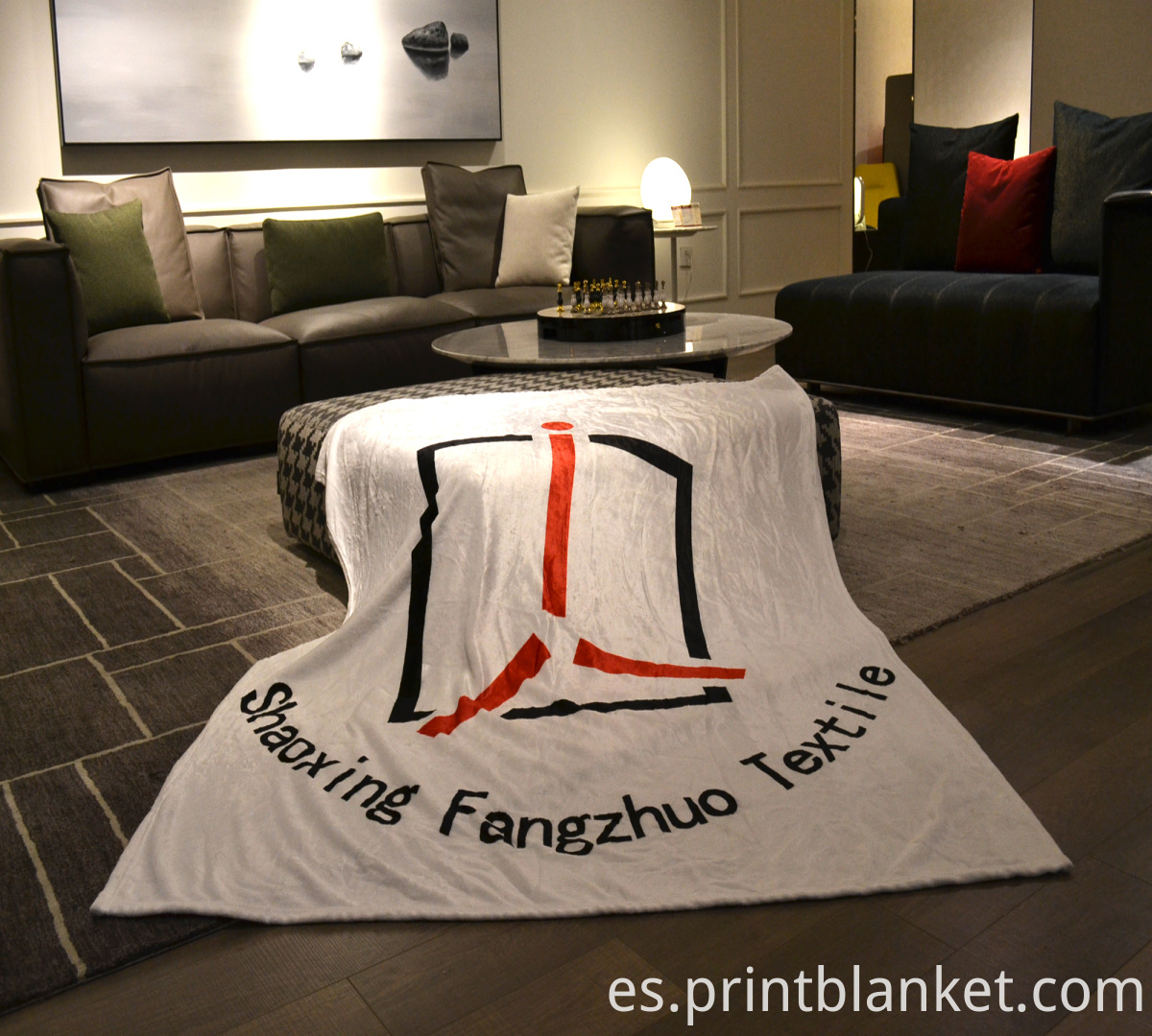 sublimated blanket