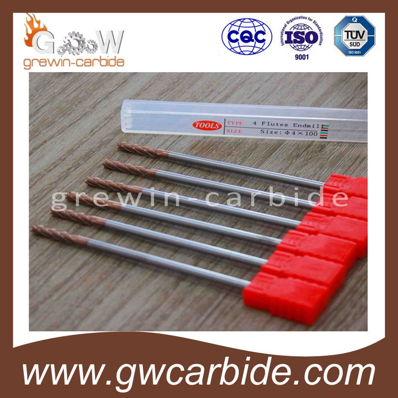 HRC 45 50 60 2 Flutes Ball Nose Carbide End Mill