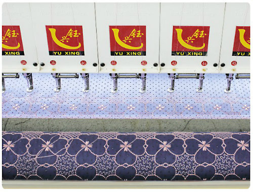 Computerized 33 Head Quilting and Embroidery Machine Yxh-1-1-50.8