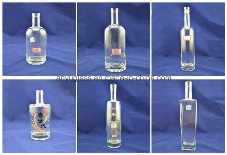 Xo Wine Glass Bottles with Different Size with Cap for Liquor, Whiskey