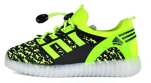 OEM Latest Student Flash Light Shoes Children LED Shoes (FF824-3)