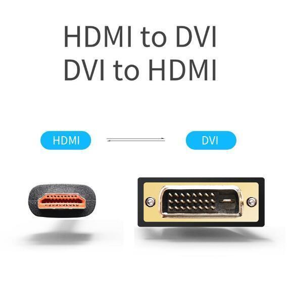Cable adaptador HDMI a DVI-I 24 + 5