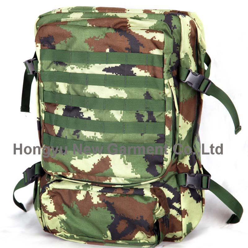 Military Army Camouflage Hunting Rucksack Backpack for Men (HY-B081)