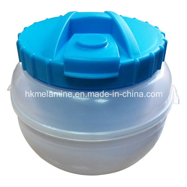 Plastic Lunch Box with Spoon (BW260)