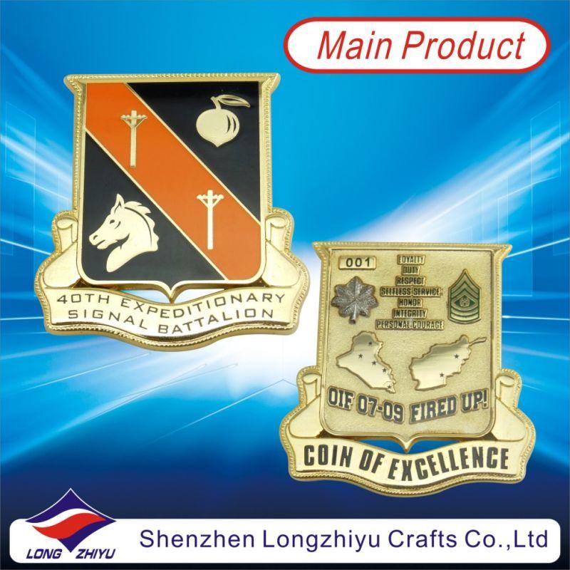 Round Custom Metal Coin Antique Bronze 3D Design Medallion Challenge Metam Copper Medal Badge Coins for Commemorative Gifts, Novelty Copy Coins