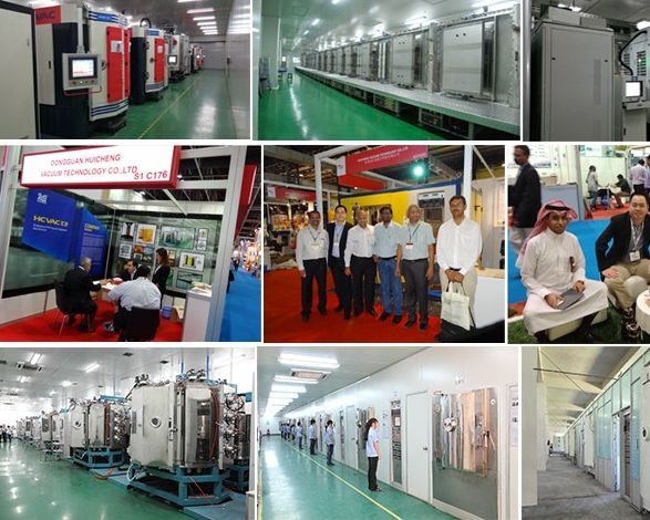 Perfume Bottle Caps UV Vacuum Metalizing Plant/Machine/UV Curing Line