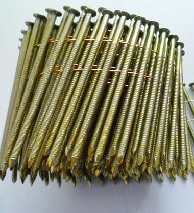 Common Nails Bright Ring Shank Nails Iron Nails