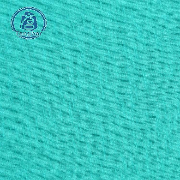 polyester slub fabric