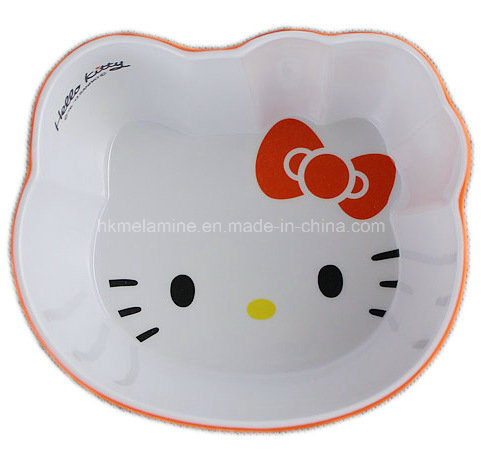 Two Tone Melamine Kids Bowl with Logo (BW7128)