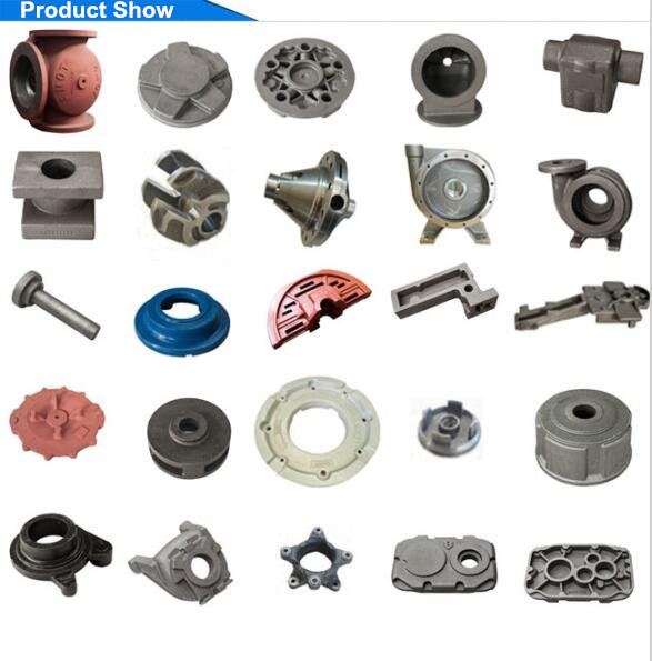 Iron Casting Machining Parts for Gearbox