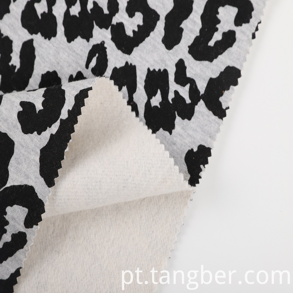 2020 new design printed fleece fabric