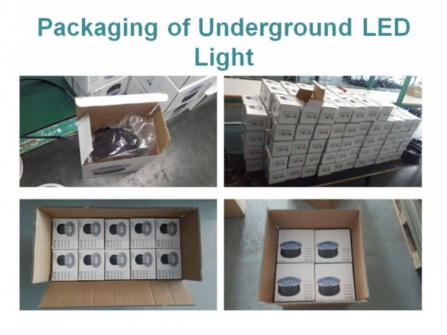 3W Stainless Steel LED Buried Underground Light