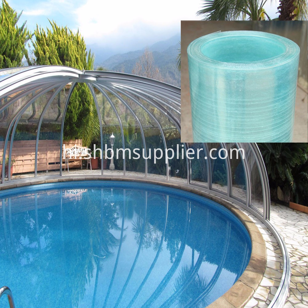 FRP Transparent Sheet