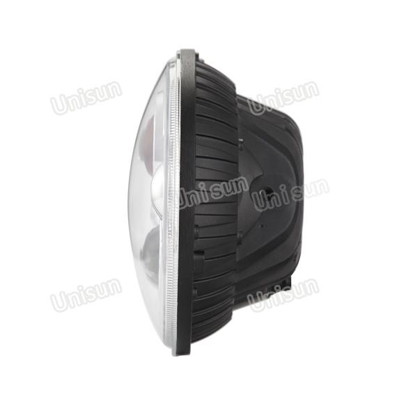12V 73W Round High Low Beam LED Truck/Car/Auto Headlight