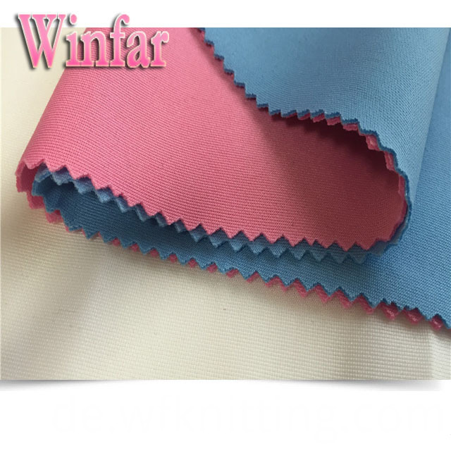 Polyester Spandex Thick Scuba Polyester Fabric