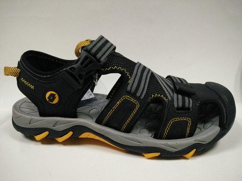 Men's Rubber Shoes Casual Leather Sandals