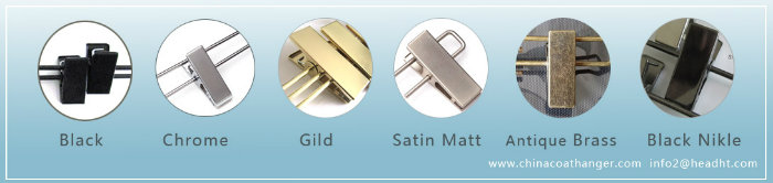 Polished Chrome Plated Metal Hooks for Clothes Hanger