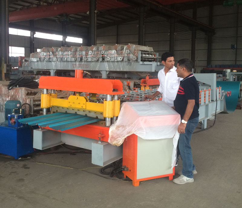 Hky High Quality Automatic Metal Roofing Panel Roll Formers