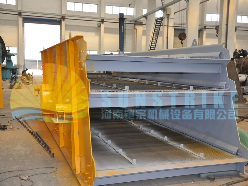 High Quality Vibrating Screen with Best Price for Mining