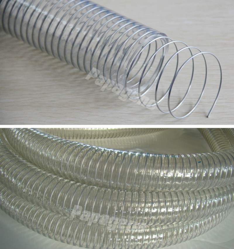 3 Inch Wire Reinforced PVC Water Discharge Hose