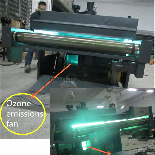 8m Two Heads Ice Flower Effect UV Dryer UV Drying Machine Suppliers