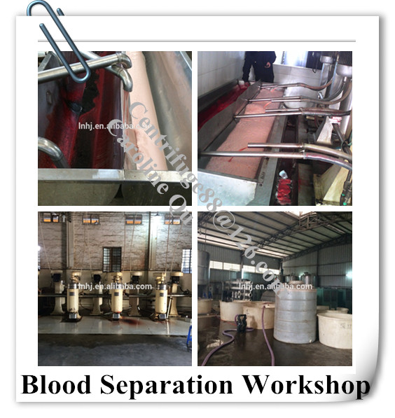Horse Blood Machine with Stainless Steel Design