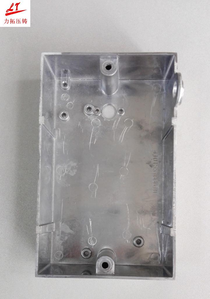 Hardware Aluminum Alloy Die Casting LED Lighting and Machinery Device Switch Cover