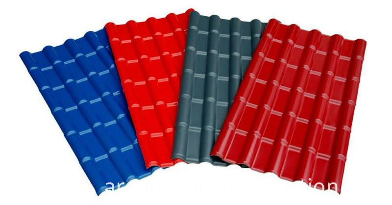 Synthetic Resin Plastic Roof Tile