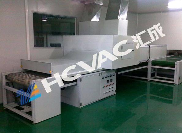 Hcvac Acrylic Plastic Sheet Mirror PVD Vacuum Coating Machine, Metallizing Plant