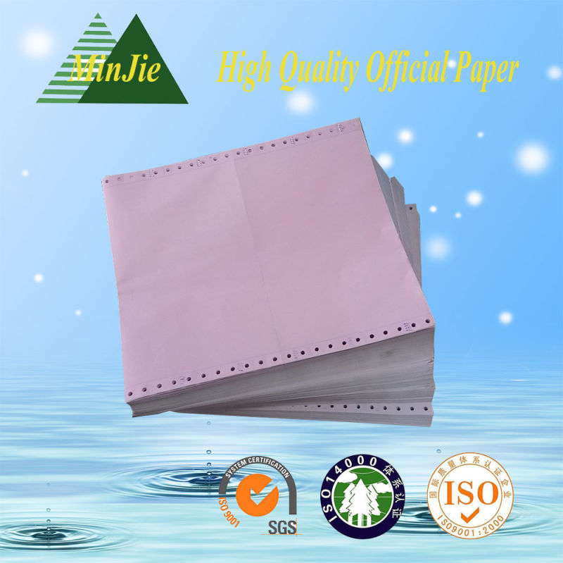 Best Quality 55GSM and 63 GSM Carbonless NCR Paper