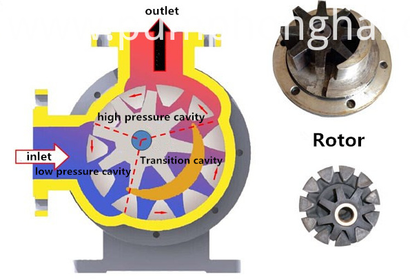 Electric Rotor Gear Oil Pump