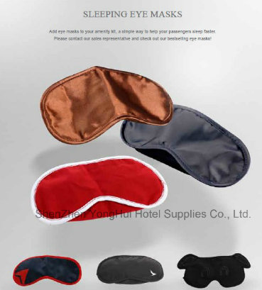 Airline First Class Amenities Face Care Eyeshade