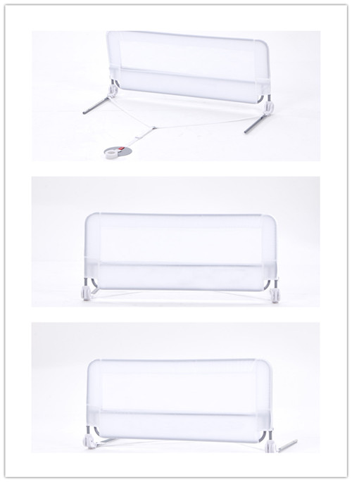 White Cheap Baby Bed Fence with Strap and Anchor
