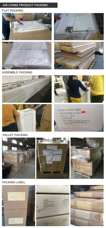 Modular High Gloss Kitchen Cabinets Furniture (AIS-K441)