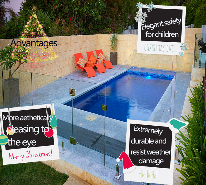 12mm pool fence glass