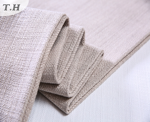 Modern Linen Looks Twill Fabric for Sofa and Chair