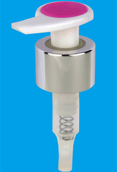 New Color Lotion Pump with Aluminum (YX-21-3C)